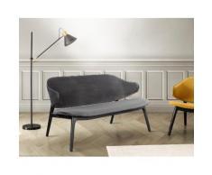 andas Polsterbank Sporring grau Polsterbänke Sitzbänke Stühle Sofas