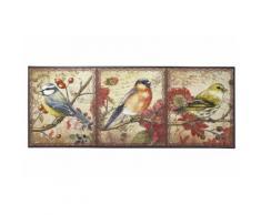 Fußmatte Vögel bunt Funktionsfußmatten Fußmatten