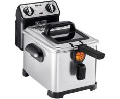 Tefal Fritteuse Filtra Pro Inox and Design FR5101, 2300 Watt silberfarben Haushaltsgeräte Elektrogeräte