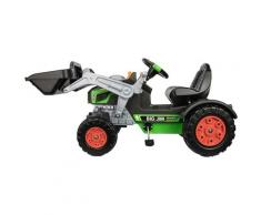 BIG Trettraktor BIG-Jim-Turbo, BxTxH: 109x52x47 cm grün Kinder Ab 3-5 Jahren Altersempfehlung