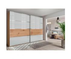 WIEMANN Schwebetürenschrank Yukon Glasfront, Breite 300 cm, 2-türig