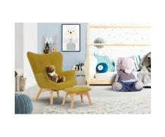 Lüttenhütt Sessel Duca Mini, in kleiner Ausführung für Kinder gelb Ohrensessel und Hocker Sofas Couches