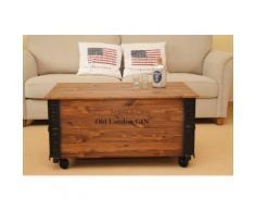 Uncle Joe´s Couchtisch, im Truhen-Design braun Couchtisch Couchtische Tische Möbel sofort lieferbar