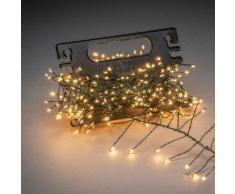 KONSTSMIDE Micro LED Büschellichterkette Cluster silberfarben LED-Lampen LED-Leuchten SOFORT LIEFERBARE Lampen Leuchten Dekoleuchten