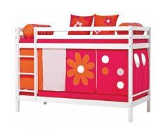 Hoppekids Etagenbett Flowerpower pink Kinder Kindermöbel Nachhaltige Möbel