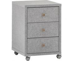 Schildmeyer Rollcontainer grau Büromöbel Nachhaltige Möbel