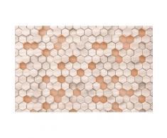 Vliestapete Woodcomb Nude Komar grafisch, braun, braun