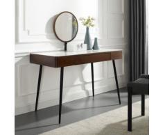 Leonique Schminktisch Sarina braun Schminktische Kleinmöbel Tisch