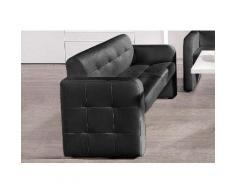 exxpo - sofa fashion 2-Sitzer Barista, mit Rückenlehne schwarz Sofas Einzelsofas Couches