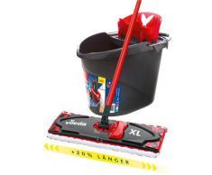 Vileda Bodenwischer-Set Ultramat XL, mit XXL-Power-Zone, (Stiel, extragroßem Wischbezug, ULTRAMAT Eimer) bunt Wischer Reinigungsgeräte Küche Ordnung