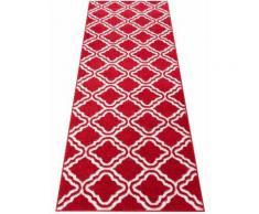 Läufer, Debora, my home, rechteckig, Höhe 13 mm, maschinell gewebt rot Teppichläufer Läufer Bettumrandungen Teppiche