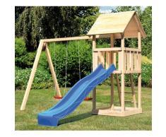 ABUKI Spielturm Rosie C, BxTxH: 382x185x291 cm beige Kinder Outdoor-Spielzeug