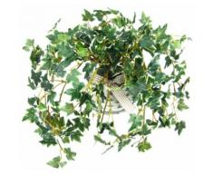 Kunstpflanze Efeu, grün, grün