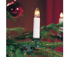 KONSTSMIDE Baumkette, Topbirnen, teilbarer Stecker weiß Lichterketten und Lichtschlauch Dekoleuchten Lampen Leuchten Saisonartikel Weihnachten