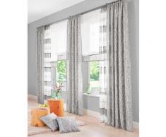 Raffrollo Camposa my home mit Klettband, grau, Neutral, grau