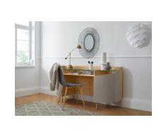 andas Schreibtisch Dagny, Design by Morten Georgsen, auch als Schminktisch oder Konsolentisch geeignet beige Schreibtische Bürotische und Büromöbel