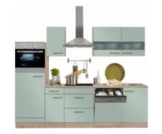 OPTIFIT Küchenzeile ohne E-Geräte »Kalmar«, Breite 270 cm, grün, lichtgrün