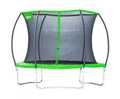 Gartentrampolin 57121 Superstar 2.0, Ø 305 cm, mit Netz grün Kinder Trampoline Fitnessgeräte