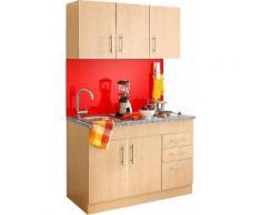 HELD MÖBEL Küchenzeile Toledo, mit E-Geräten, Breite 120 cm beige Küchenserien Küchenmöbel Küche Ordnung