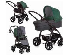 hauck FUN FOR KIDS Kombi-Kinderwagen inkl. Babyschale, »Soul Plus Trio Set Emerald«, grün, Unisex, Emerald