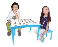 Jamara Kindersitzgruppe Easy Learning blau Kinder Kinderstühle Kindermöbel