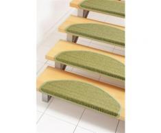 Stufenmatte, »Dortmund«, Dekowe, stufenförmig, Höhe 5 mm, maschinell gewebt, grün, Neutral, Avocado