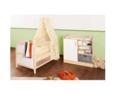Pinolino Babyzimmer Set (2-tlg) Sparset, »Florian«, Neutral, creme/weiß