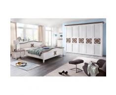 Premium collection by Home affaire Kleiderschrank Mistral, weiß, weiß/lava