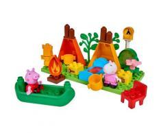 BIG Konstruktions-Spielset BIG-Bloxx Peppa Pig Camping Set, (25 St.) bunt Kinder Bausteine Bausätze Bauen Konstruieren