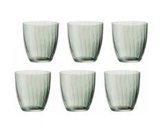 BOHEMIA SELECTION Gläser-Set Georgia (6-tlg.) grün Whiskygläser Gläser Glaswaren Haushaltswaren Trinkgefäße