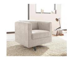 INOSIGN Sessel »Bob« drehbar mit Sternfuß, Feinstruktur weich