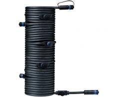 Paulmann Outdoor Plug&Shine 15m IP68 Lampen-Verbindungskabel, schwarz, schwarz