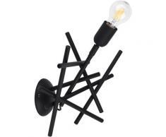 SPOT Light Wandleuchte GLENN, E27, 1 St., aus Metall, originelles Design, passende LM Made in EU schwarz Wandleuchten Lampen Leuchten