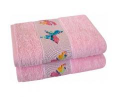 Handtücher Schmetterling Dyckhoff, rosa, rosa
