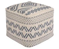 bougari Sitzkissen Kuba, In- und Outdoor geeignet, Pouf, waschbar blau Stuhlkissen Kissen Kopfkissen