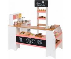 """MUSTERKIND Kaufladen """"Grano weiß/apricot"""", weiß, Unisex, weiß-apricot"""