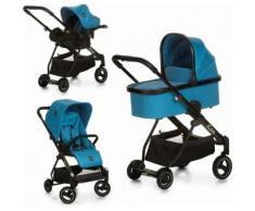 iCoo Kombi-Kinderwagen Acrobat XL Plus Trio Set Diamond Saphire blau Kinder Kombikinderwagen Kinderwagen Buggies