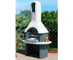 Buschbeck Grillkamin Salina, BxTxH: 110x65x206 cm grau Grillkamine Grill Haushaltsgeräte Grills