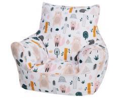 Knorrtoys Sitzsack Wildlife, für Kinder; Made in Europe bunt Sitzsäcke Bodenkissen Kissen