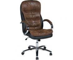 Duo Collection Chefsessel Mads XXL, mit gepolsterten Armlehnen schwarz Sessel Wohnzimmer