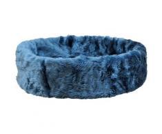 SILVIO design Tierbett Ruhe- und Schlafinsel, BxLxH: 50x50x12 cm, blau grau Hundebetten -decken Hund Tierbedarf