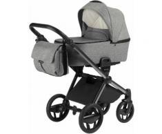 knorr-baby Kombi-Kinderwagen Set Life+ graphit, grau, Unisex, graphit