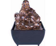 Home affaire Brunnen Buddha, schwarz