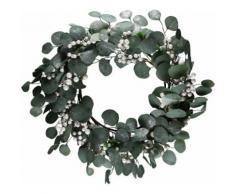 AM Design Dekokranz grün Kunstkränze Kunstpflanzen Wohnaccessoires Dekokränze