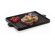 Genius Grillplatte BBQ (1-tlg.) schwarz Zubehör für Herde Kochfelder Haushaltsgeräte Backblech
