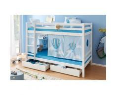 Hoppekids Etagenbett Ballon blau Kinder Kindermöbel Nachhaltige Möbel