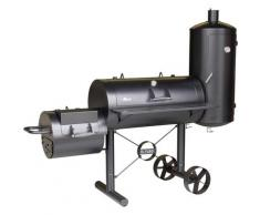 El Fuego Smoker Kiona, BxTxH: 211x70x173 cm schwarz Grills Garten Balkon