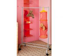 GGG MÖBEL Garderobenständer silberfarben Garderoben