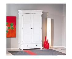 Home affaire Kleiderschrank Danz weiß Garderoben Möbel mit Aufbauservice