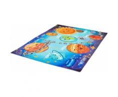 Obsession Kinderteppich My Torino Kids 230, rechteckig, 10 mm Höhe, mit Weltall-Motiv bunt Kinder Kinderteppiche Motiv Teppiche